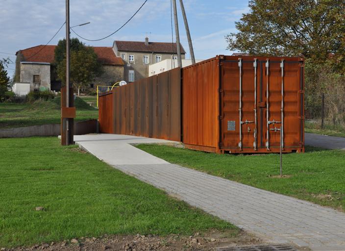 container fermé _ gens association libérale d'architecture