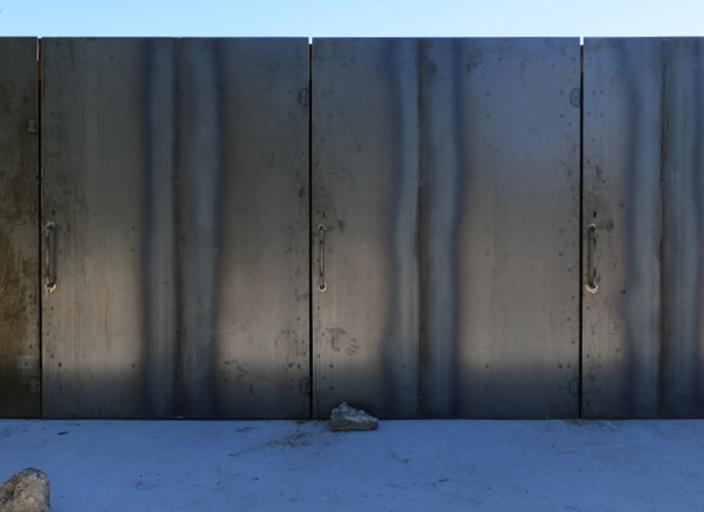 porte acier corten _ gens association libérale d'architecture